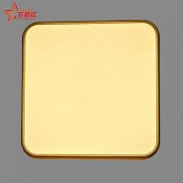 LED现代超薄吸顶灯48w方形三色变光