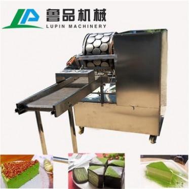 鲁品 单排烤鸭饼机LP-6型 燃气加热厂家直销