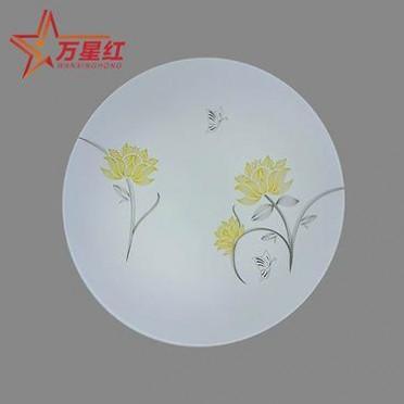 LED超薄吸顶灯圆形12w单色白光