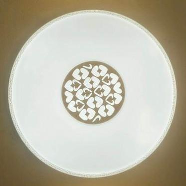 万星红LED超薄吸顶灯SS003圆形三色变光