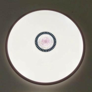 万星红LED超薄吸顶灯SS002现代简约圆形三色变光