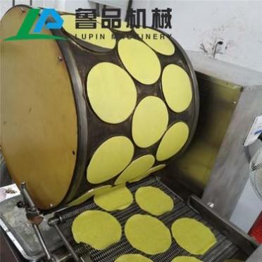 提供蛋皮配方 鲁品LP-16全自动薄饼机蛋皮机千层蛋糕机定制