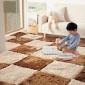 欧式简约拼接满铺地毯客厅沙发茶几卧室床边大地垫儿童榻榻米脚垫